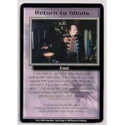 RETURN TO IDEALS PROMO CARD