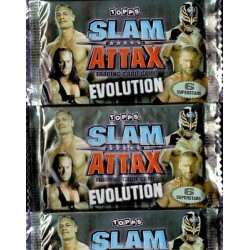 3 boosters Slam Attax...