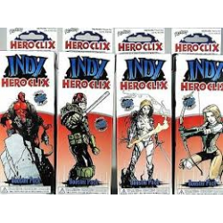 Lot 4 boosters heroclix indy